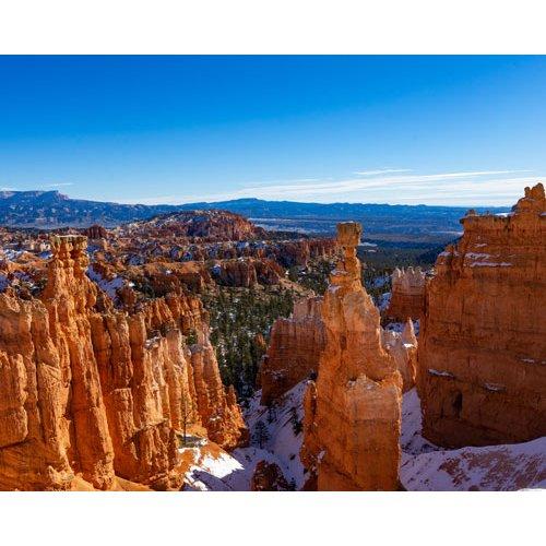Fototapetai Kanjono peizažas, Bryce Canyon Nacionalini parkas, Jungtinės Amerikos valstijos
