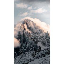 Fototapetai Kalnas apsuptas debesimis peizažas
